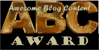 ABC [Awesome Blog Content] Award