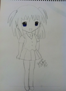Manga Chibi tall