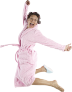 PKO_0007393 Yipee Wahoo Jump Pink Robe